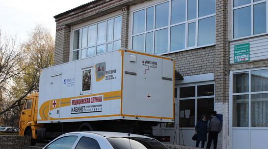 В Таловской райбольнице заработал второй мобильный флюорограф
