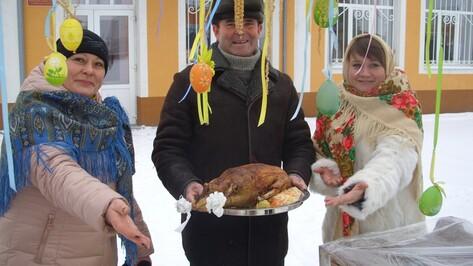 В райцентре Воронежской области прошел фестиваль «Панинский рождественский гусь»