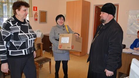 Поворинцы получили от Воронежской митрополии готовые завтраки