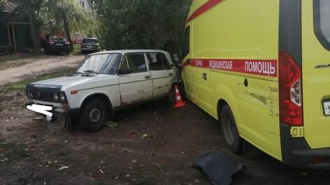 Пожилая пациентка «скорой» погибла в ДТП в Воронежской области