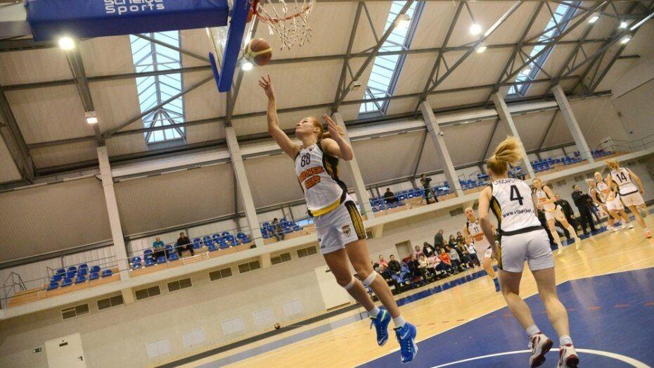 Воронежские баскетболистки победили клуб из Ставрополя