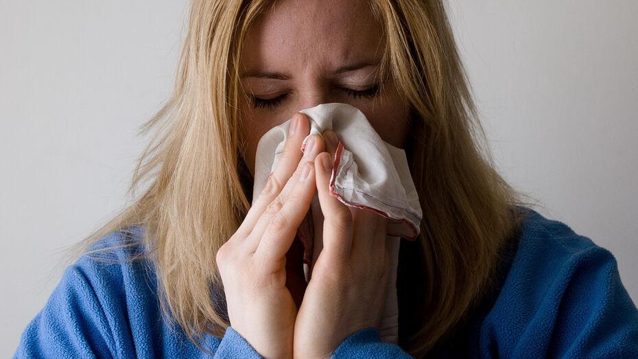 Число заболевших ОРВИ воронежцев за неделю выросло почти до 10 тыс