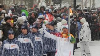 Сотрудник РИА «Воронеж» принял участие в эстафете олимпийского огня