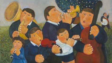 Московский художник-примитивист Андрей Карпов откроет выставку в Воронеже