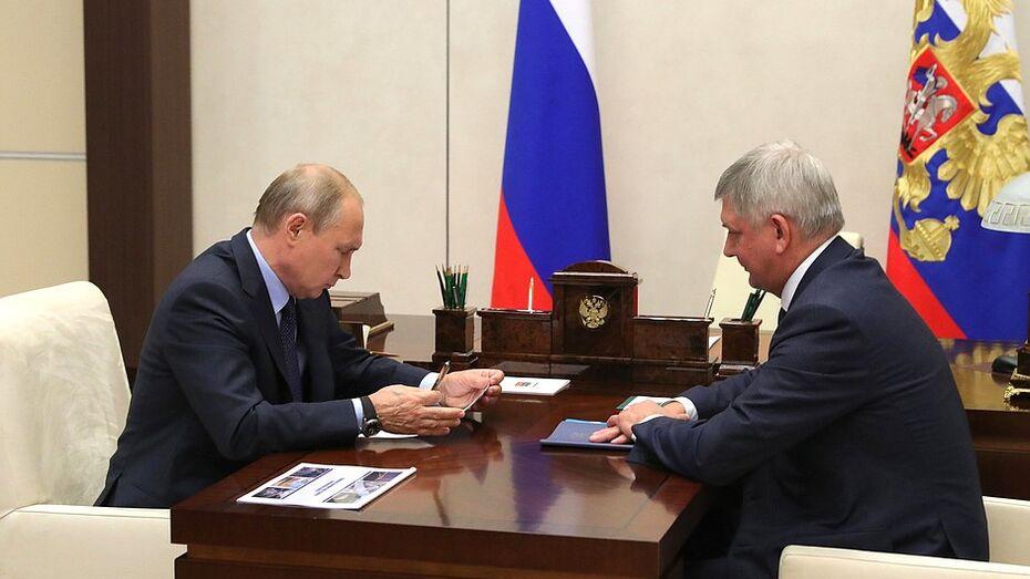 Президент РФ поддержал идею создания ОЭЗ под Воронежем