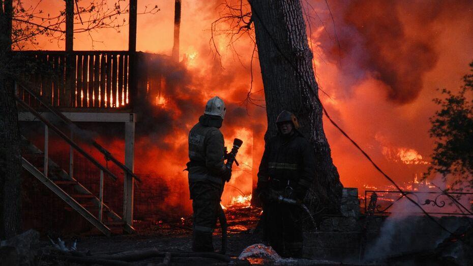 Фотовыставка о тяжелой работе пожарных открылась в Воронеже