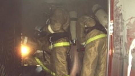 Пожарные эвакуировали 12 воронежцев