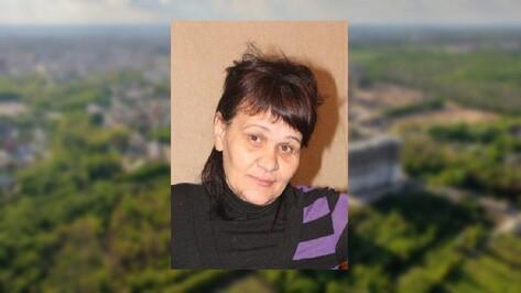 В Воронежской области пропала 49-летняя женщина