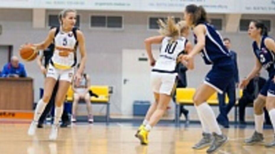 Баскетбольный клуб «Воронеж-СКИФ» дважды переиграл столичный МБА