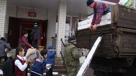 Поворинские школьники за 8 дней собрали более 5 т  макулатуры