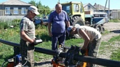 В Верхнем Мамоне идет масштабная реконструкция канализационной системы
