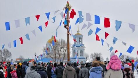 В Воронеже из-за масленичных гуляний перекроют улицу Театральная