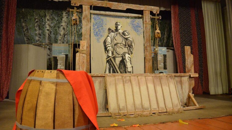 В Воронеже воспитанникам детдомов рассказали «Историю солдата»