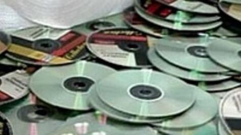 Воронежец получил три года условно за продажу контрафактных дисков