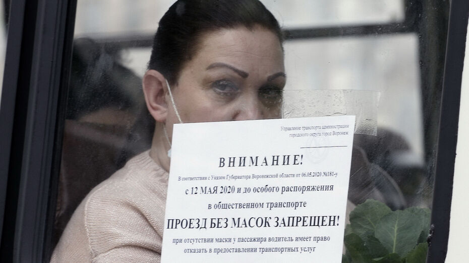 Тотальный контроль за масочным режимом введут в Воронежской области