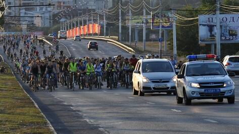 Первая в Воронеже велодружина поддержит полицию на массовых акциях