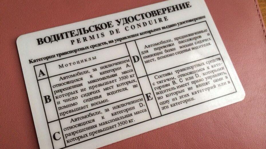 Шестеро воронежцев незаконно получили водительские удостоверения