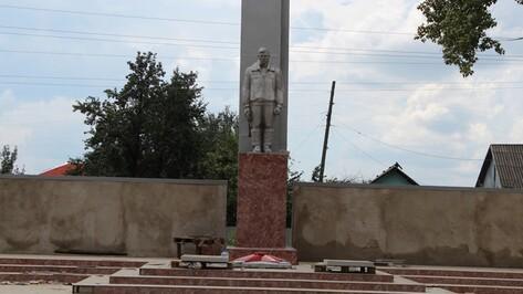 В Верхней Хаве впервые за 38 лет начат капитальный ремонт воинского мемориала