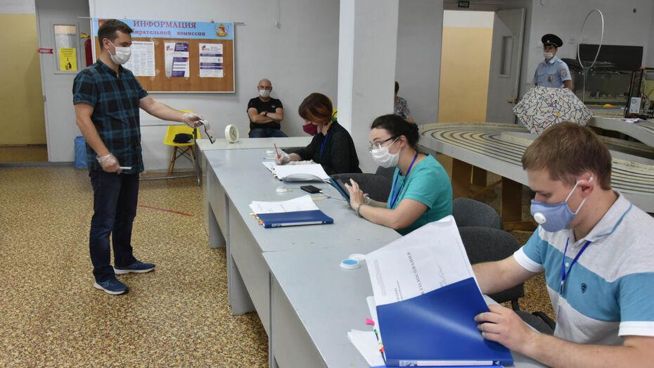 Облизбирком озвучил предварительные итоги голосования в Воронежской области