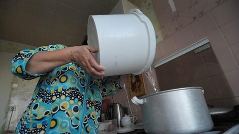 Многим жителям Советского района Воронежа придется посидеть без горячей воды лишнюю неделю