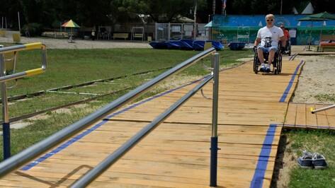 На воронежский пляж для инвалидов пустят низкопольный автобус