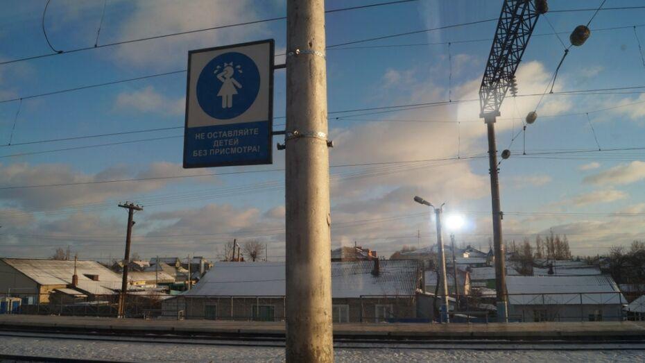 Под Воронежем на станции Углянец поезд насмерть сбил 27-летнюю девушку