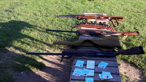 Браконьеры попались во время охоты на уток в Воронежском заповеднике