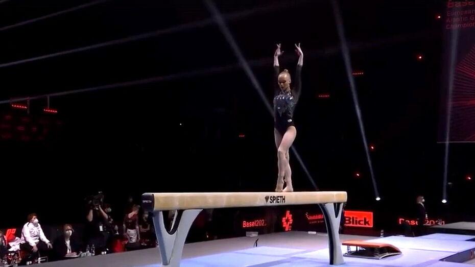 Воронежская гимнастка Ангелина Мельникова завоевала «серебро» на чемпионате Европы