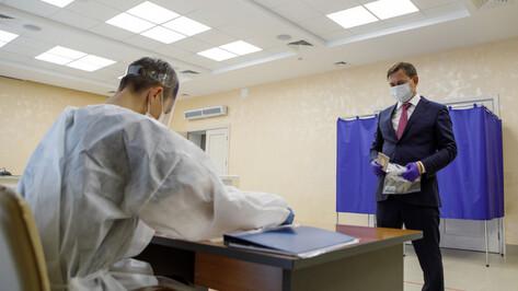 Председатель Воронежской облдумы проголосовал за Конституцию