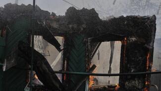Два человека погибли в ночных пожарах в Воронежской области