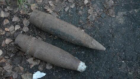 В Острогожском районе уничтожили венгерские снаряды времен войны