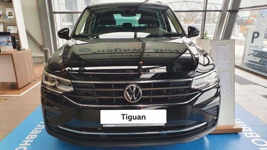 «Автомир Воронеж» проведет тест-драйв нового Volkswagen Tiguan
