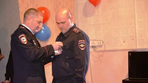 Поворинские полицейские отметили профессиональный праздник