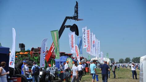 «День Воронежского поля» собрал более 180 сельскохозяйственных компаний