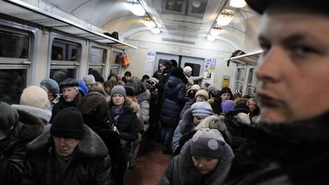 За проезд в городской электричке в Воронеже ЮВЖД возьмет 57-76 рублей