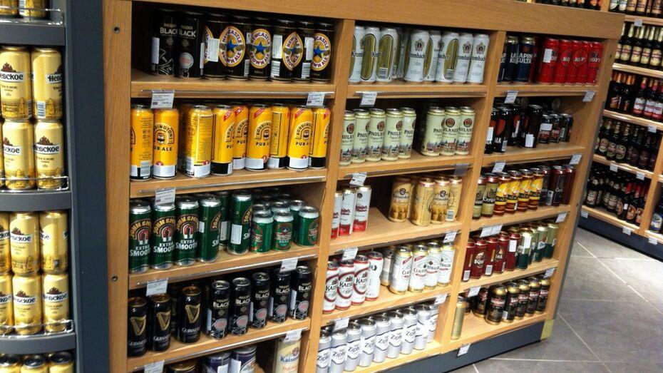 Воронежский парень стал фигурантом уголовного дела за кражу пива