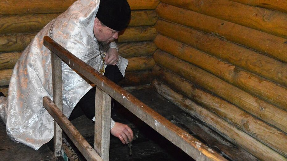 В Репьевском районе для крещенских купаний подготовят 3 места