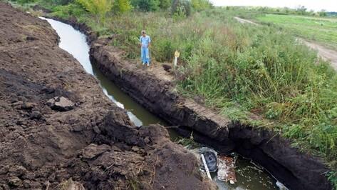 Воронежцы организовали дежурство после попытки неизвестных осушить озеро Круглое