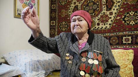 Слезы после боя и раненая связистка. Что запомнилось 97-летней воронежской участнице войны