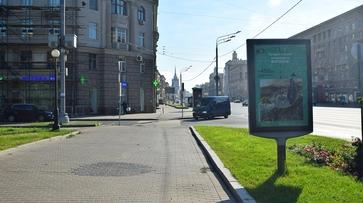Рекламирующие Воронеж баннеры появились на пути из Москвы к морю