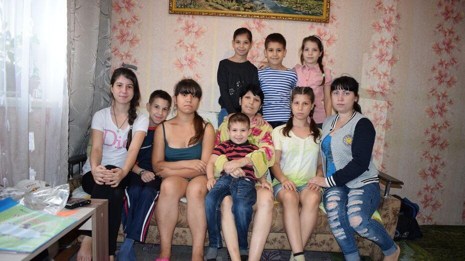 В Борисоглебске онкобольная мать 10 детей попросила помощи