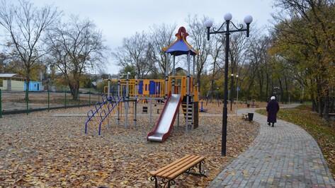 В новоусманском поселке Отрадное открыли новый парк