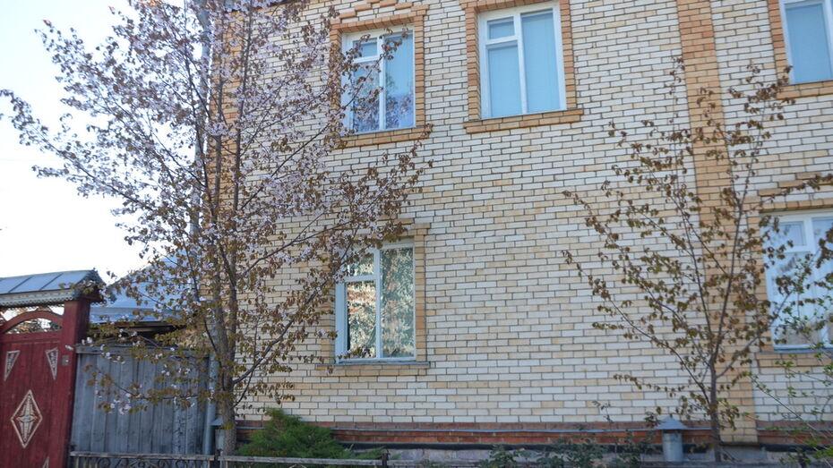 Сакуры впервые зацвели у жителя Павловска в палисаднике