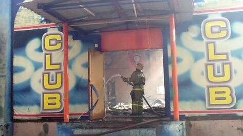 Пожар в бывшем клубе завода имени Тельмана мог произойти из-за открытого источника огня