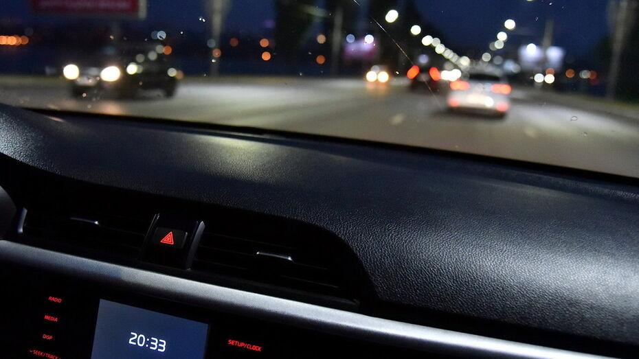 Пьяных водителей будут искать в пригородных районах Воронежа в ночь на субботу