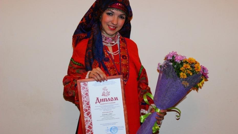 Жительница Нижнедевицка заняла первое место во Всероссийском конкурсе частушек