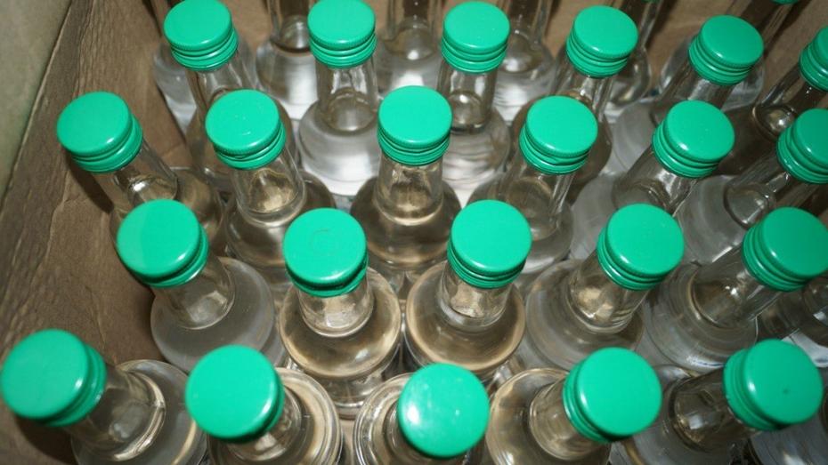 Власти Воронежа обнаружили нелегальный алкоголь в 77 магазинах и киосках