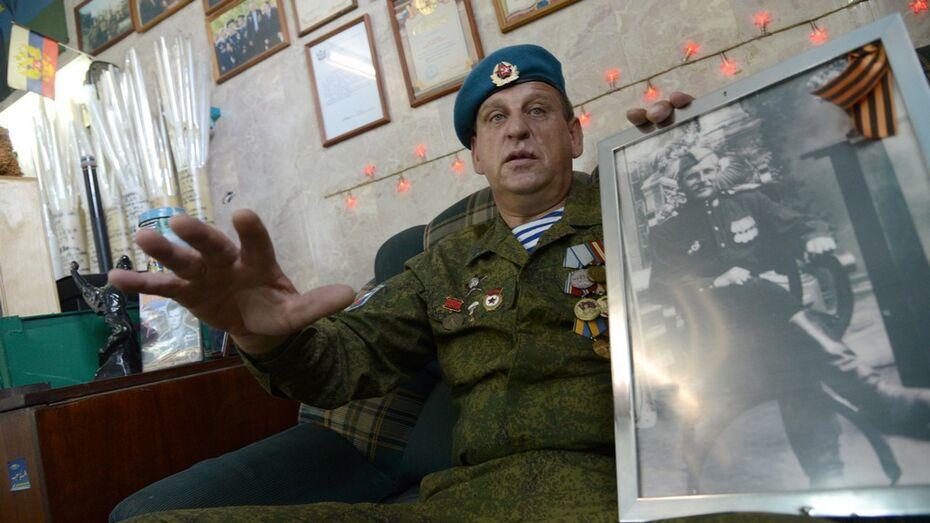Ветеран ВДВ из Воронежа создал в гараже музей десанта