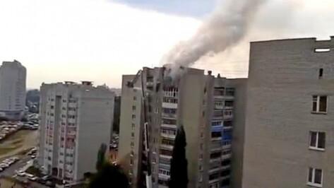 Воронежская полиция разыскивает подозреваемого в совершении поджогов квартиры, частного дома и иномарки