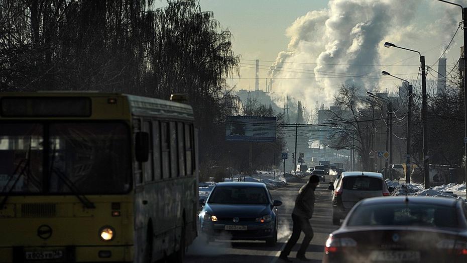 Морозная и ветреная неделя началась в Воронеже